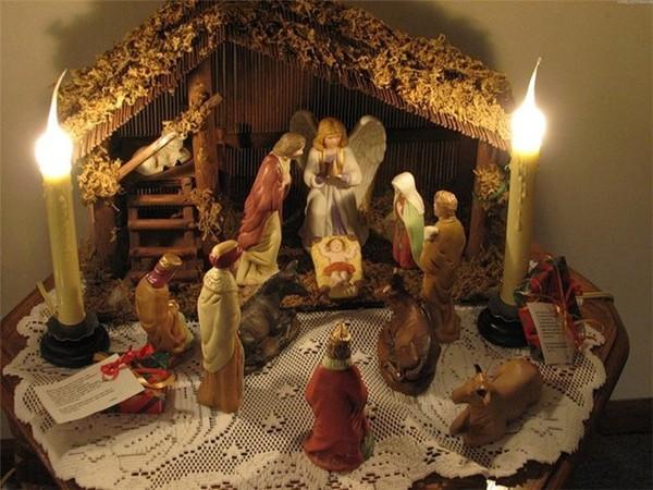 Празднование Рождества и рождественские традиции.