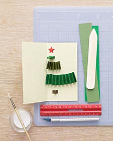 Как оригинально сделать открытку на новый год