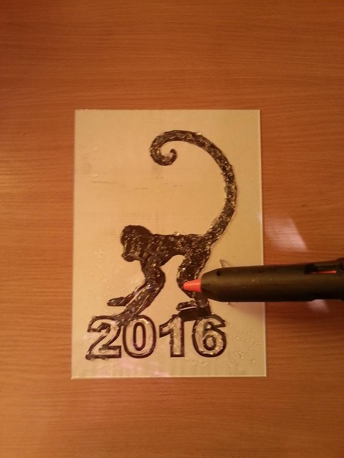 Обезьяна, символ года 2016, мастер-класс