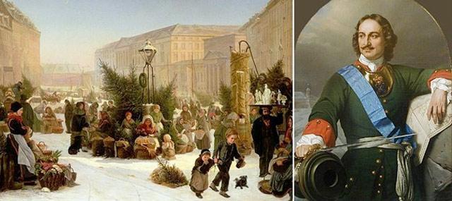 Первый Новый год в России