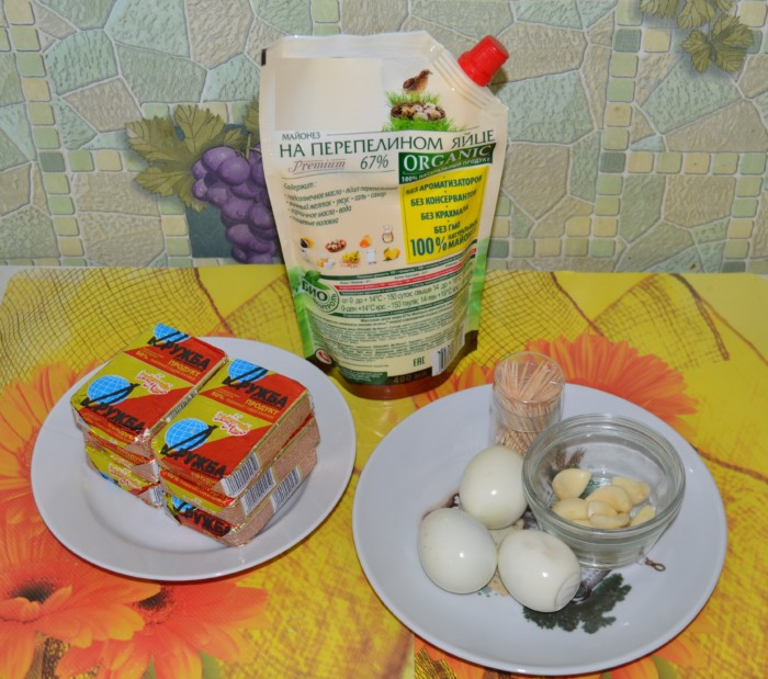 Новогодняя закуска Снеговик - вкусная острая сырные закуска