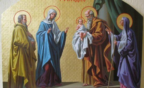Церковный праздник Сретение Господне
