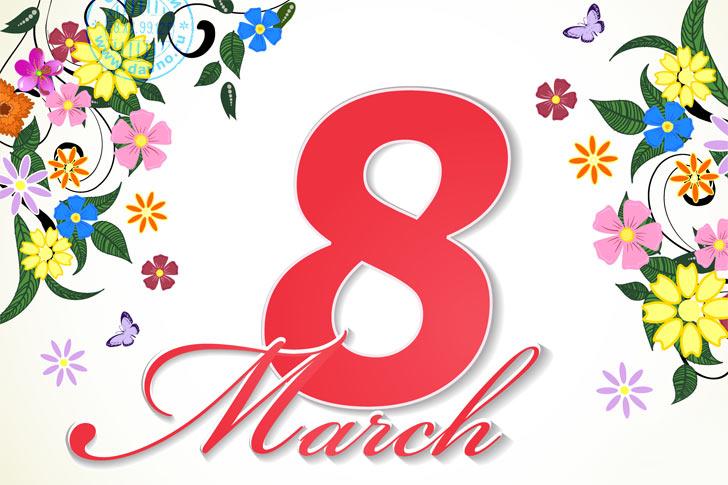 Открытки с 8 марта на английском языке