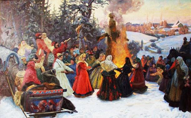 Праздник Масленица в России