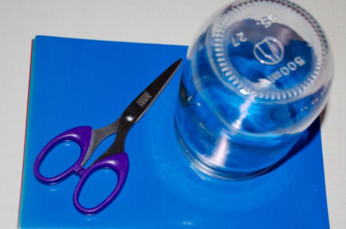 Новогодний елочный шар из бумаги ручной работы