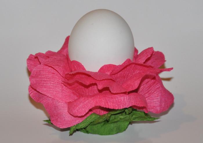 Подставка для пасхальных яиц из бумаги своими руками