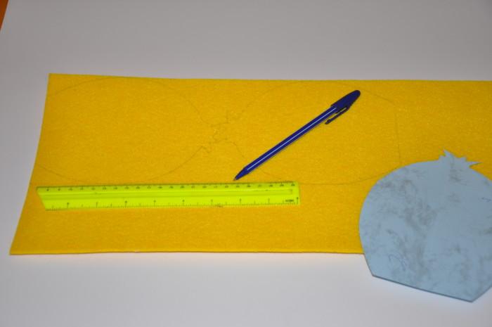 Корзинка из фетра к Пасхе - детские корзинки своими руками