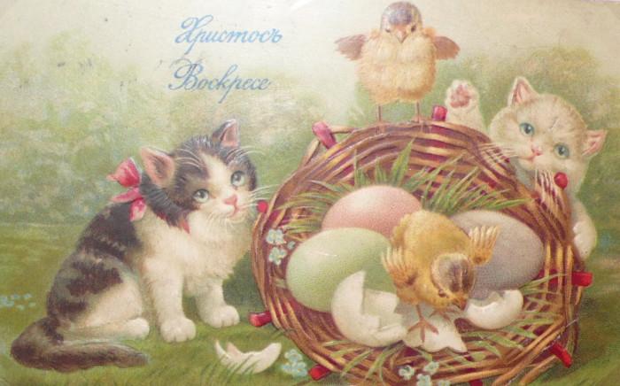 Красивые открытки с Пасхой Христовой