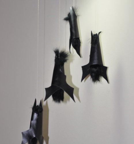 Гирлянда Летучие мыши на Хэллоуин - украшения для комнаты на Хэллоуин