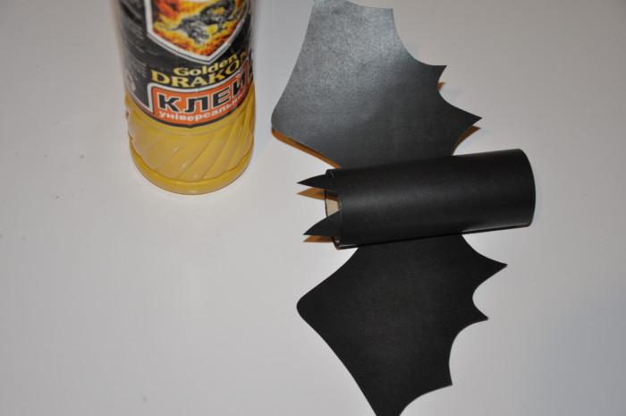 Упаковка конфет на Хэллоуин Летучая мышь
