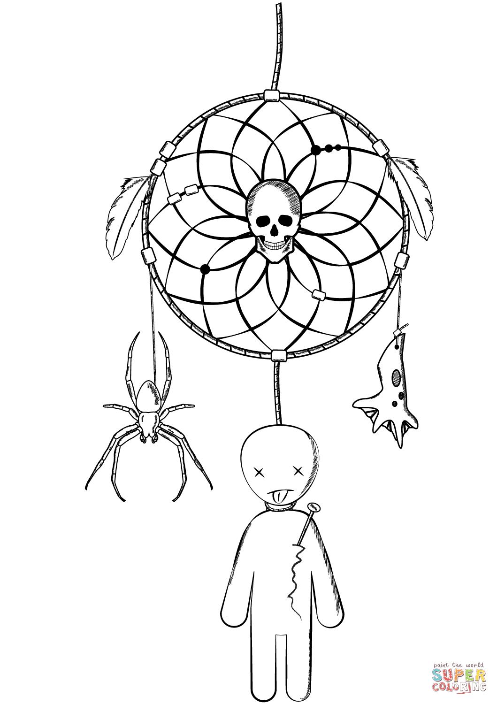 Раскраски - пауки на Хэллоуин