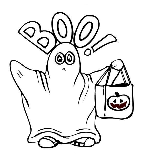 Страшные картинки про Хэллоуин - новые раскраски на ...