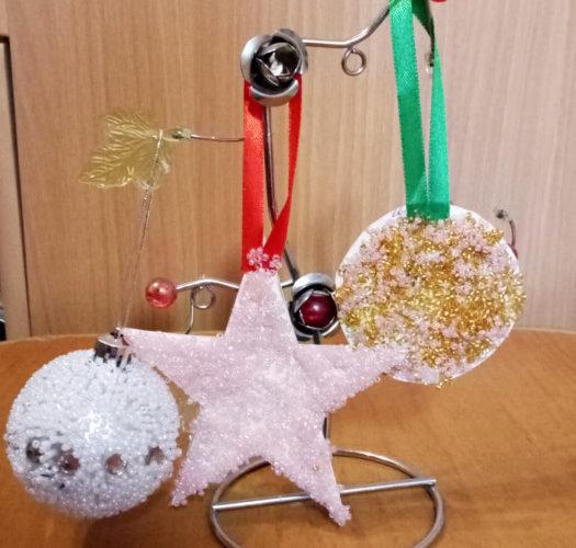 Новогодние игрушки из картона своими руками фото 267