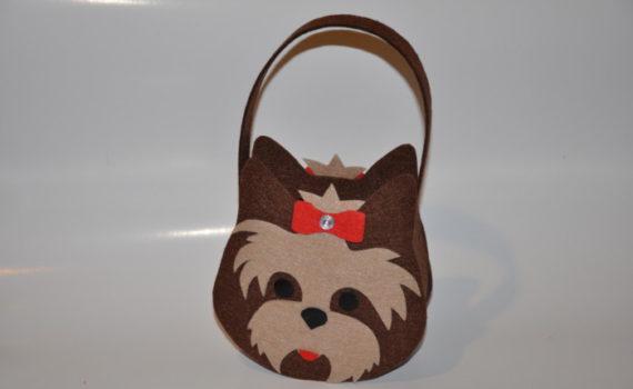 Новогодняя сумочка из фетра своими руками