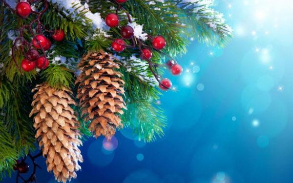 Самые красивые виртуальные открытки с Новым годом 2018