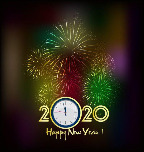 Поздравительные новогодние картинки 2020 год Крысы или Мыши