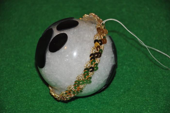 Новогодние елочные шары своими руками