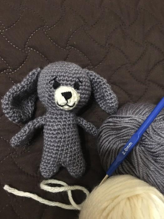 Собака вязаная крючком - игрушки амигуруми своими руками