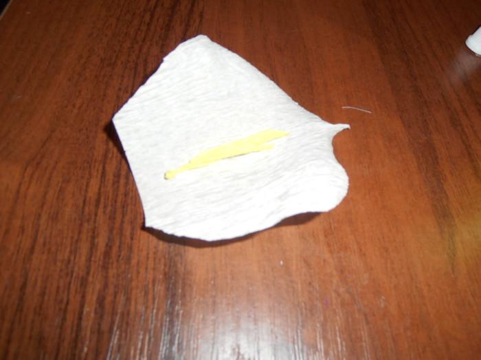 Каллы из бумаги своими руками