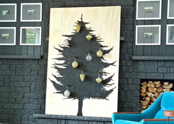 Оформление новогодней елки - новогодний декор 2019