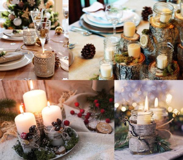 Оформление новогоднего стола на год Свиньи или Кабана
