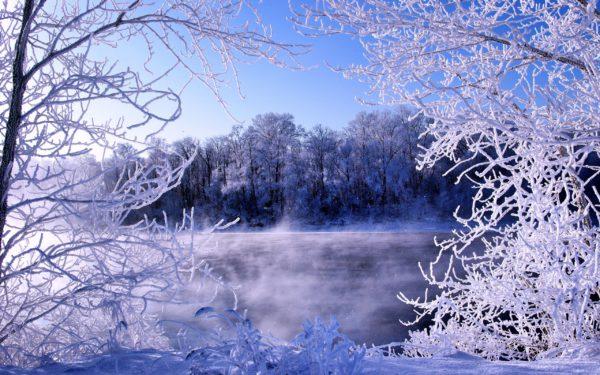 Зимняя природа, картинки и красивые фото-обои зимней природы - лучшие новогодние заставки на компьютер