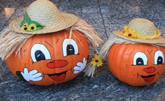Осенние поделки из тыквы своими руками - какую сделать поделку из тыквы в школу, в садик, на выставку