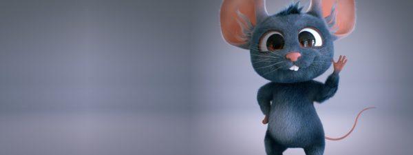 Новогодние обои на рабочий стол с мышками или крысами