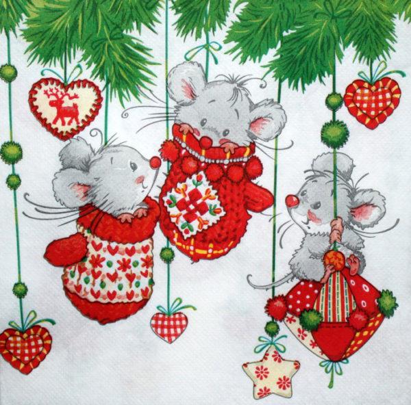 Новогодние нарисованные картинки в год Крысы